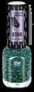 BRIGITTE BOTTIER Лак Star Shine стар шайн STS тон 421 ментоловые блестки / Star Shine12млЛаки<br>Лак Star Shine Сияние Звезд - это еще раз дань непреходящей моде на лаки с блестками от Brigitte Bottier. И в наступающем сезоне они по-прежнему актуальны особенно в холодных оттенках звездного сияния. Для долговечности маникюра наносите его строго в соответствии со способом применения: Активные ингредиенты: бутилацетат, этилацетат, нитроцеллюлоза, ацетил трибутил цитрат, адипиновая кислота/неопентил гликоль/триметиловый сополимер ангидрида, спирт изоприловый, стирол/ сополимер акрилат, стеаралкониум бетонит, силика, Н-бутиловый спирт, бензофенон-1, диацетоновый спирт, триметилпентанедил дибензоата, полиэтилен, фосфорная кислота. Способ применения: 1) нанесите Base Coat, дождитесь полного высыхания; 2) нанесите первый слой лака Star Shine, дождитесь полного высыхания; 3) нанесите второй слой лака Star Shine, дождитесь полного высыхания; 4) нанесите Top Coat, дождитесь полного высыхания. Примечание 1: лак может использоваться и поверх цветного лака,помогая создавать модный и современный образ. Каждый раз новый. Примечание 2: для ускорения сушки рекомендуется использовать Супер сушку (Super Dry Top Coat) серии Galaxy или Каплю-сушку (Drop Super Dry Top Coat) от Brigitte Bottier.<br><br>Цвет: Зеленые<br>Виды лака: С блестками