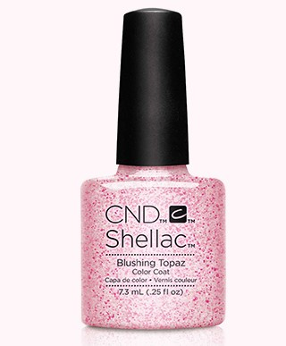 CND 91259 покрытие гелевое / Blushing Topaz SHELLAC Starsrtuck 7,3 мл irli3705 to 220f