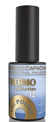 Купить GIORGIO CAPACHINI 12 гель-лак трехфазный для ногтей / Thermo 7 мл, Синие