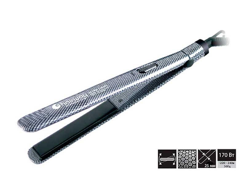 HAIRWAY Щипцы Ultra Light MCH Ionic Ceramic 170WЩипцы-выпрямители<br>Профессиональные щипцы-выпрямители с удлиненными полотнами Hairway Ultra Light Ionic Ceramic MCH Technology. Привлекательный, элегантный дизайн. Мощность: 170 Вт Ширина пластин: 25 мм.<br>