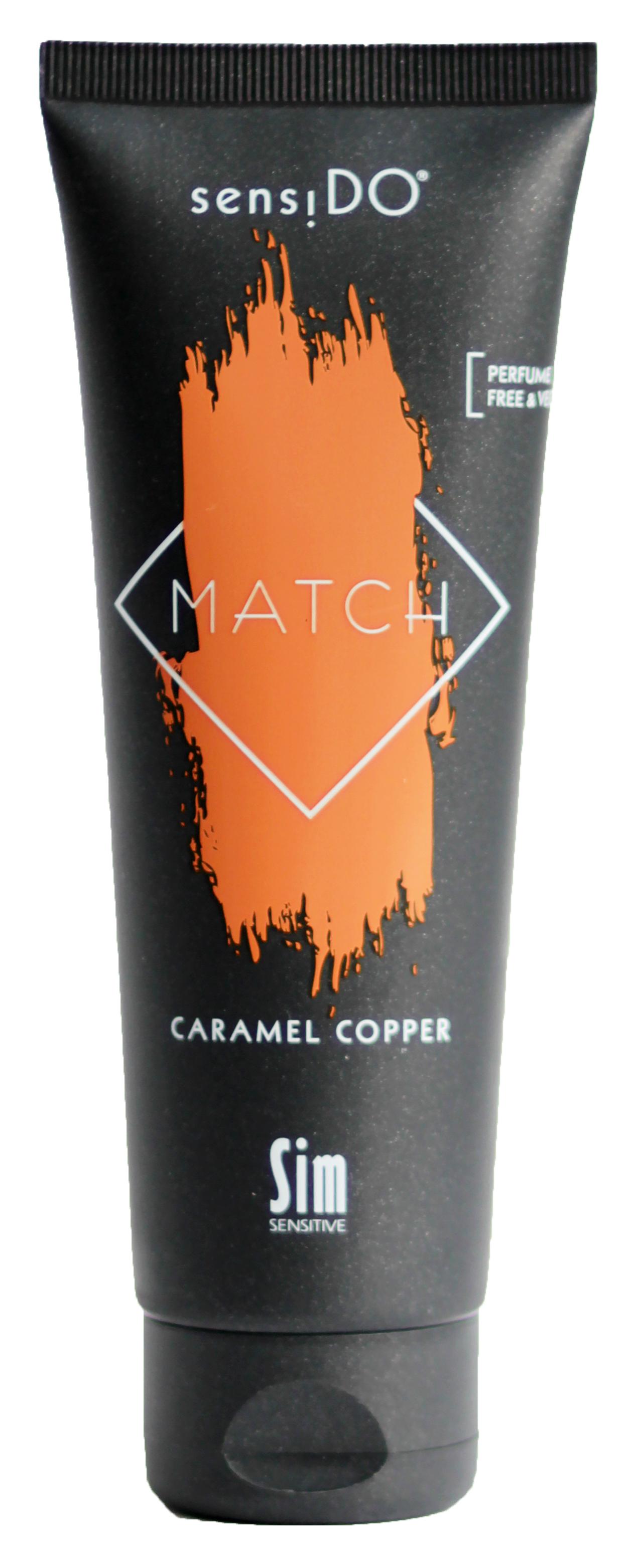 Sim sensitive краситель прямого действия, медно-карамельный / sensido match caramel copper 125 мл