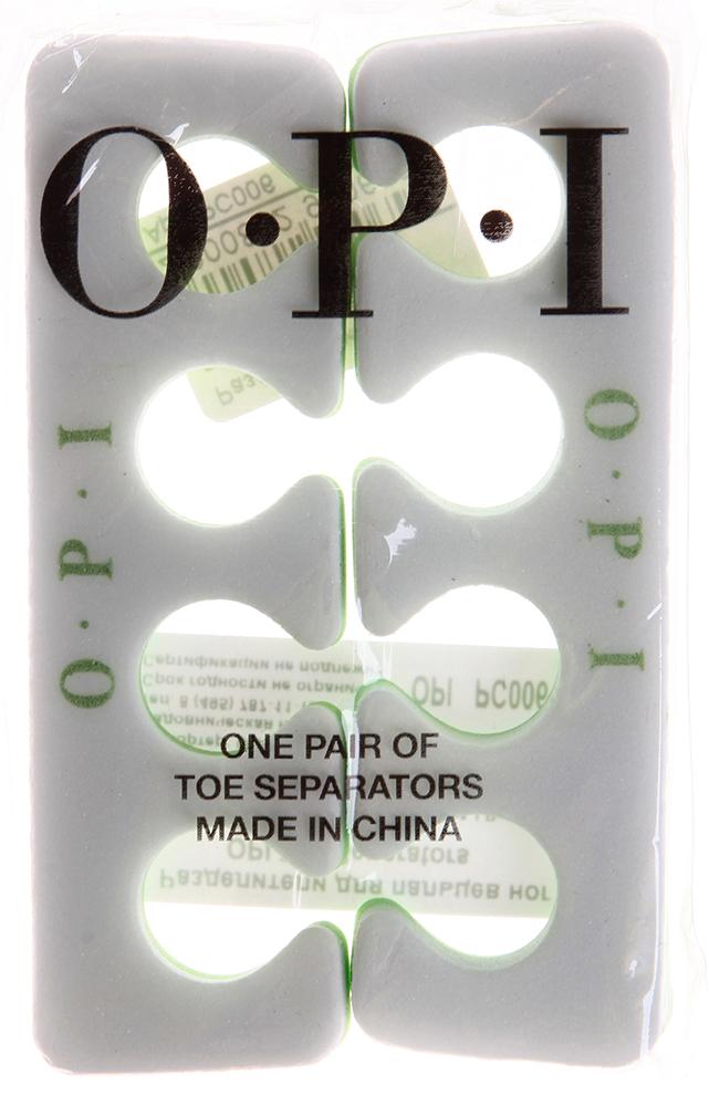 OPI Разделители для пальцев ног / Toe Separators 1параМаникюр-инструменты<br>Незаменимый аксессуар в процедуре педикюра - мягкие, разноцветные разделители для пальцев ног. Форма выпуска: 2шт.<br>