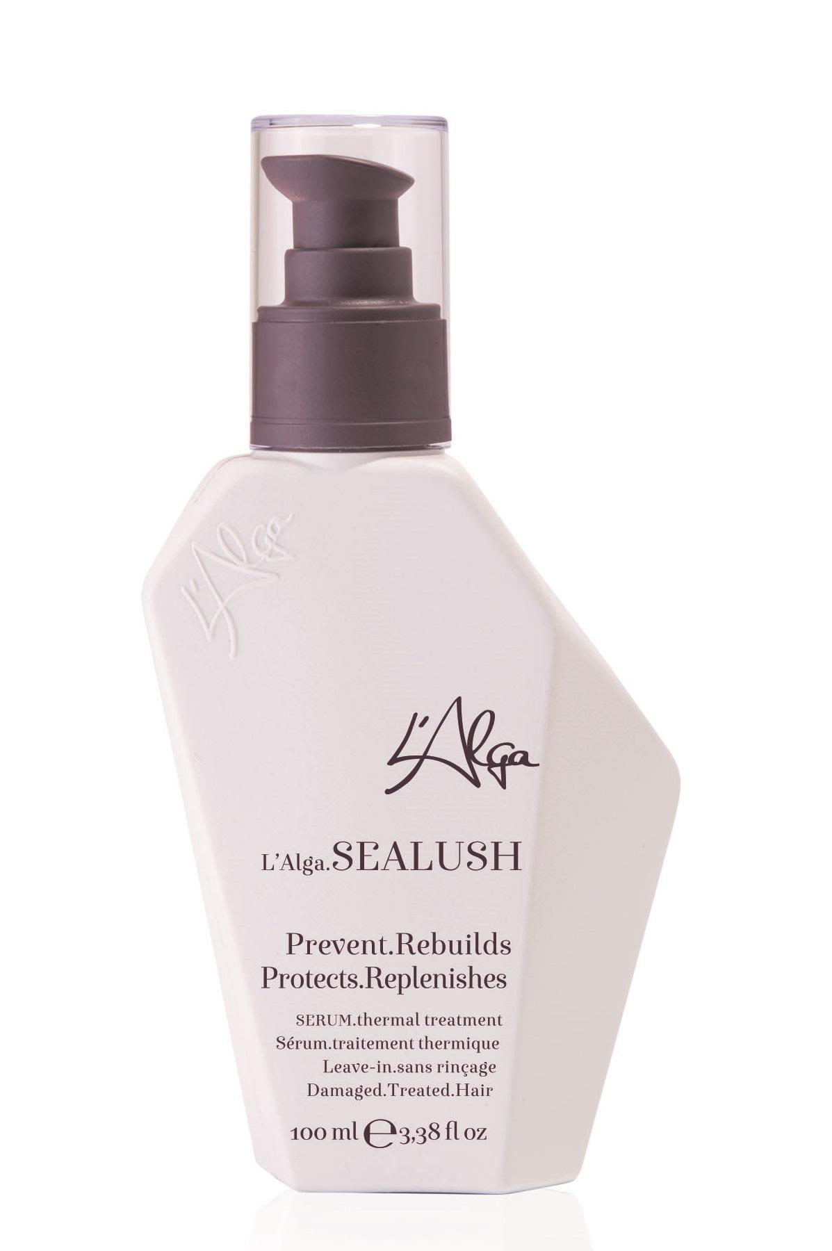 Купить L'ALGA Сыворотка восстанавливающая термозащитная для волос / SEALUSH Serum 100 мл