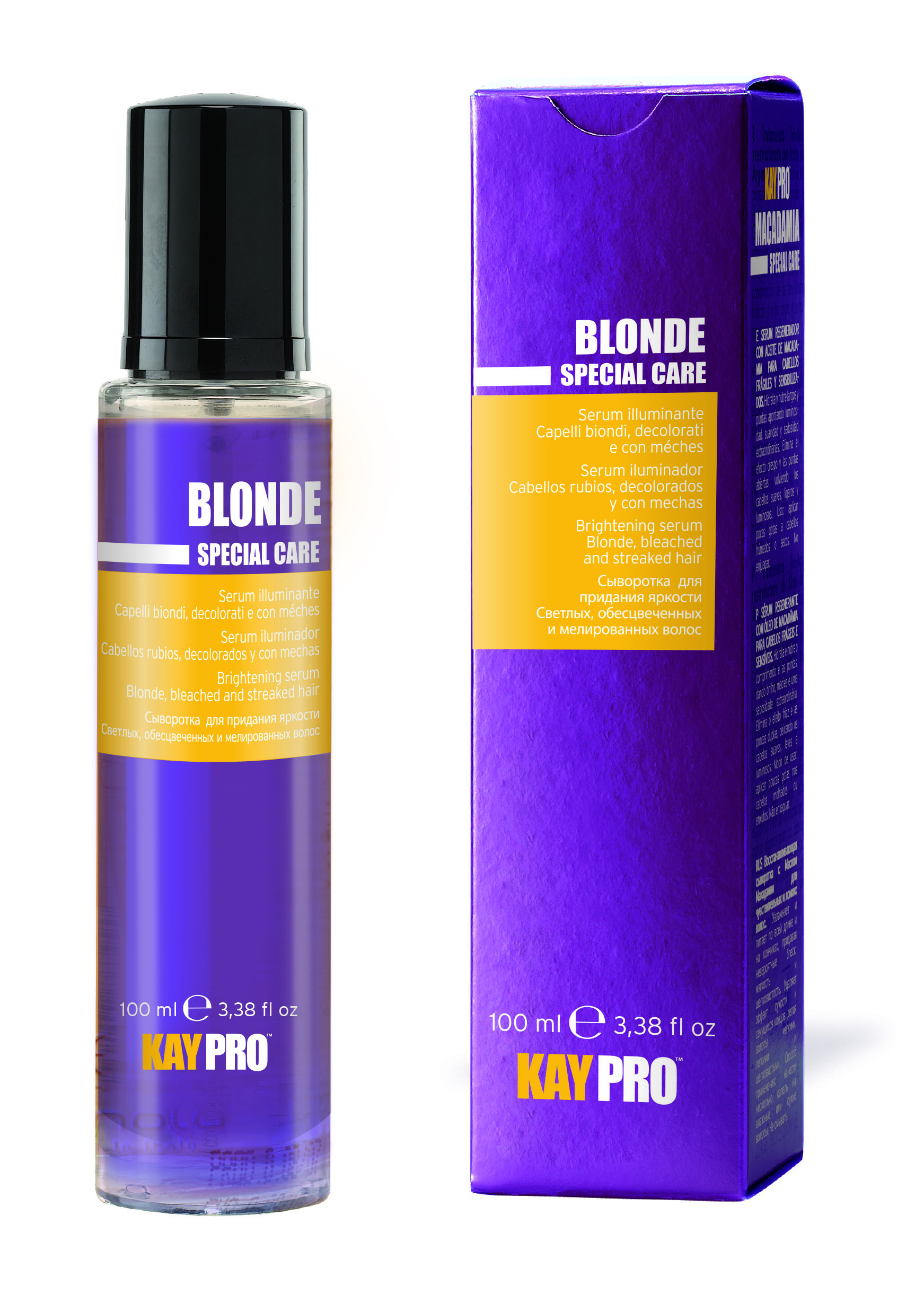 Купить KAYPRO Сыворотка с сапфиром для придания яркости 100 мл, Блонд