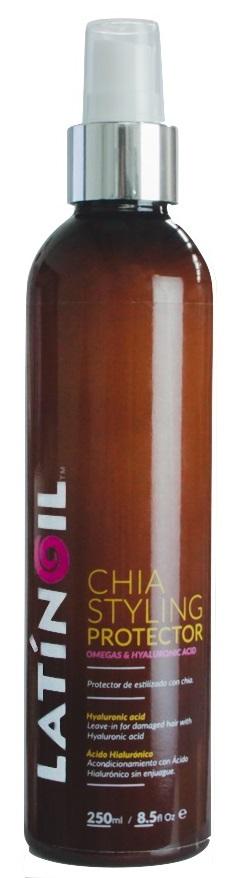 LATINOIL Спрей термозащитный с маслом чиа для волос / CHIA STYLING PROTECTOR 250 мл -  Спреи