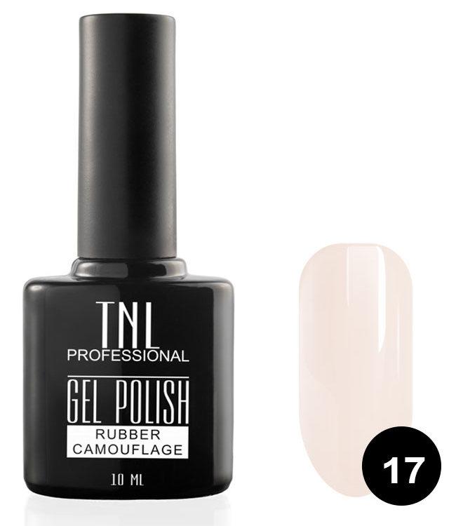 Купить TNL PROFESSIONAL 17 гель-лак камуфлирующий для ногтей / rubber camouflage 10 мл, Розовые
