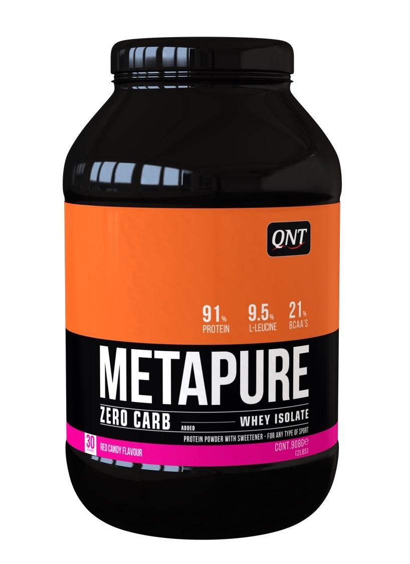 QNT Добавка биологически активная к пище Метапьюр зеро карб, красная конфета / ZERO CARB METAPURE Red Candy 908 г  - Купить