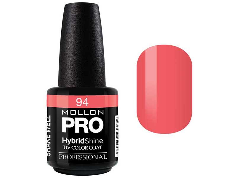 MOLLON PRO Гель-лак для ногтей УФ / HybridShine UV Color Coat  94 15мл