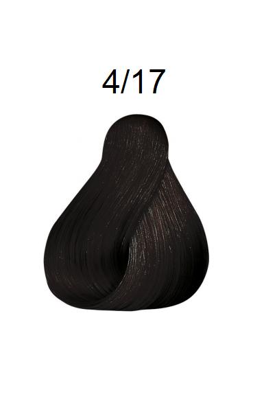 WELLA 4/17 коричневый пепельно-коричневый краска для волос / Koleston Perfect Innosense 60мл