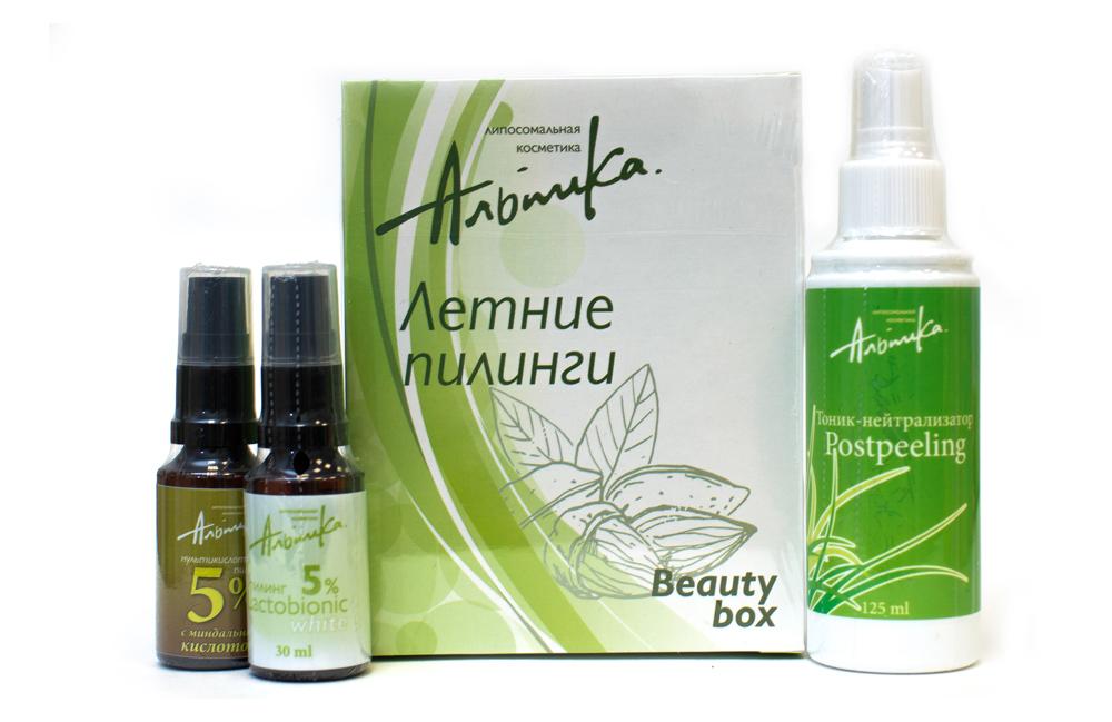 АЛЬПИКА Набор Летние пилинги Beauty Box
