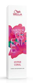 Купить WELLA Краска оттеночная для ярких акцентов, гипер коралл / CF CREATE 60 мл