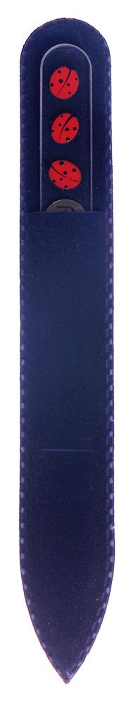 BOHEMIA PROFESSIONAL Пилочка стеклянная прозрачная с рисунком 135ммПилки для ногтей<br>Нет ничего лучше для натуральных ногтей, чем пилка из богемского хрусталя. Данный материал имеет практически неограниченный срок использования. Пилки Bohemia Professional имеют наиболее стойкий абразив. Пилка из богемского хрусталя также может стать стильным аксессуаром или красивым подарком. Bohemia Professional представляет Вам огромный выбор прозрачных и цветных пилок с декором: ручная роспись, декорация стразами, пилки с логотипом, и полноцветные изображения. Инструмент можно стерилизовать и обрабатывать химическими дезинфекторами, антисептиками.<br>