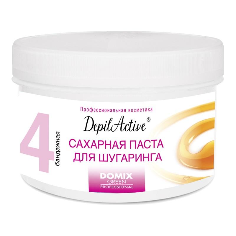 DOMIX GREEN PROFESSIONAL Паста сахарная для шугаринга бандажная / DGP DepilActive 650 г