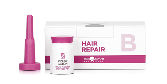 HAIR COMPANY Лосьон восстанавливающий B / Double Action HAIR REPAIR LOTION B 10*10мл