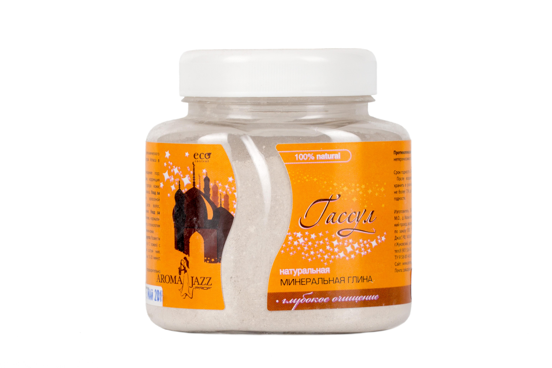 AROMA JAZZ Пилинг для лица Гассул 300млПилинги<br>Профессиональный сухой пилинг для лица, глубокое увлажнение, витаминизация, коррекция овала лица сужает и очищает поры, разглаживает мелкие морщины, корректирует овал лица, повышает упругость кожи, нормализует жировой баланс, лечит акне и дерматологические заболевания. Кожа становится удивительно нежной и приобретает матовый оттенок. Рекомендовано для чувствительной и подверженной аллергии кожи.  Гассул  удаляет все загрязнения, прекрасно очищает  чёрные точки , насыщает кожу витаминами и минералами. Активные ингредиенты: минеральная глина вулканического происхождения, добываемая в горах Атласа в Марокко, белая глина. Способ применения: две-три столовых ложки гассула развести кипяченой водой комнатной температуры до получения однородной кремообразной массы. Нанести маску толстым слоем на кожу лица, шеи, декольте. Оставить маску на 15-20 минут, поддерживая мышцы лица в расслабленном состоянии. Смыть маску теплой водой. Для достижения стойкого эффекта маски применяются курсами 1-2 раза в неделю в течение 4-6 недель. Противопоказания: аллергическая реакция на составляющие компоненты.<br><br>Объем: 300 мл<br>Вид средства для лица: Вулканическое