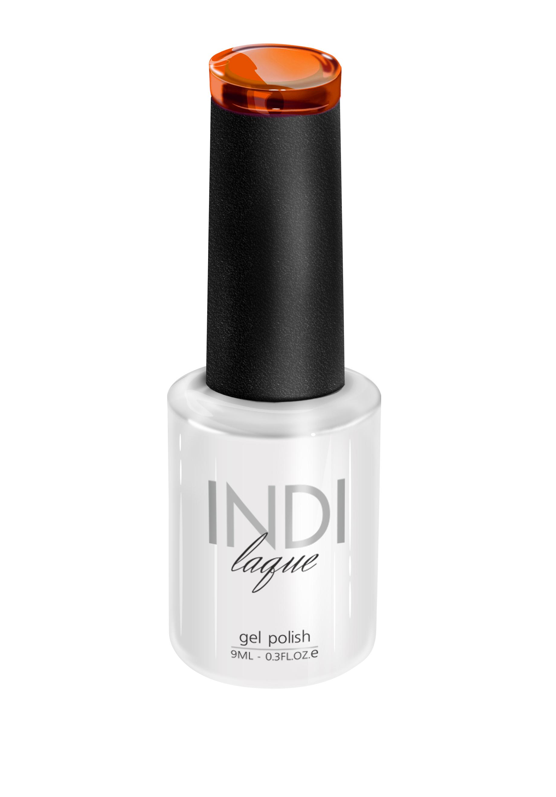 Купить RUNAIL 3480 гель-лак для ногтей / INDI laque 9 мл, Оранжевые