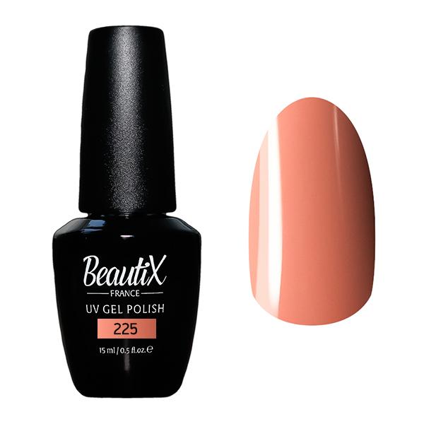 Купить BEAUTIX 225 гель-лак для ногтей 15 мл, Оранжевые