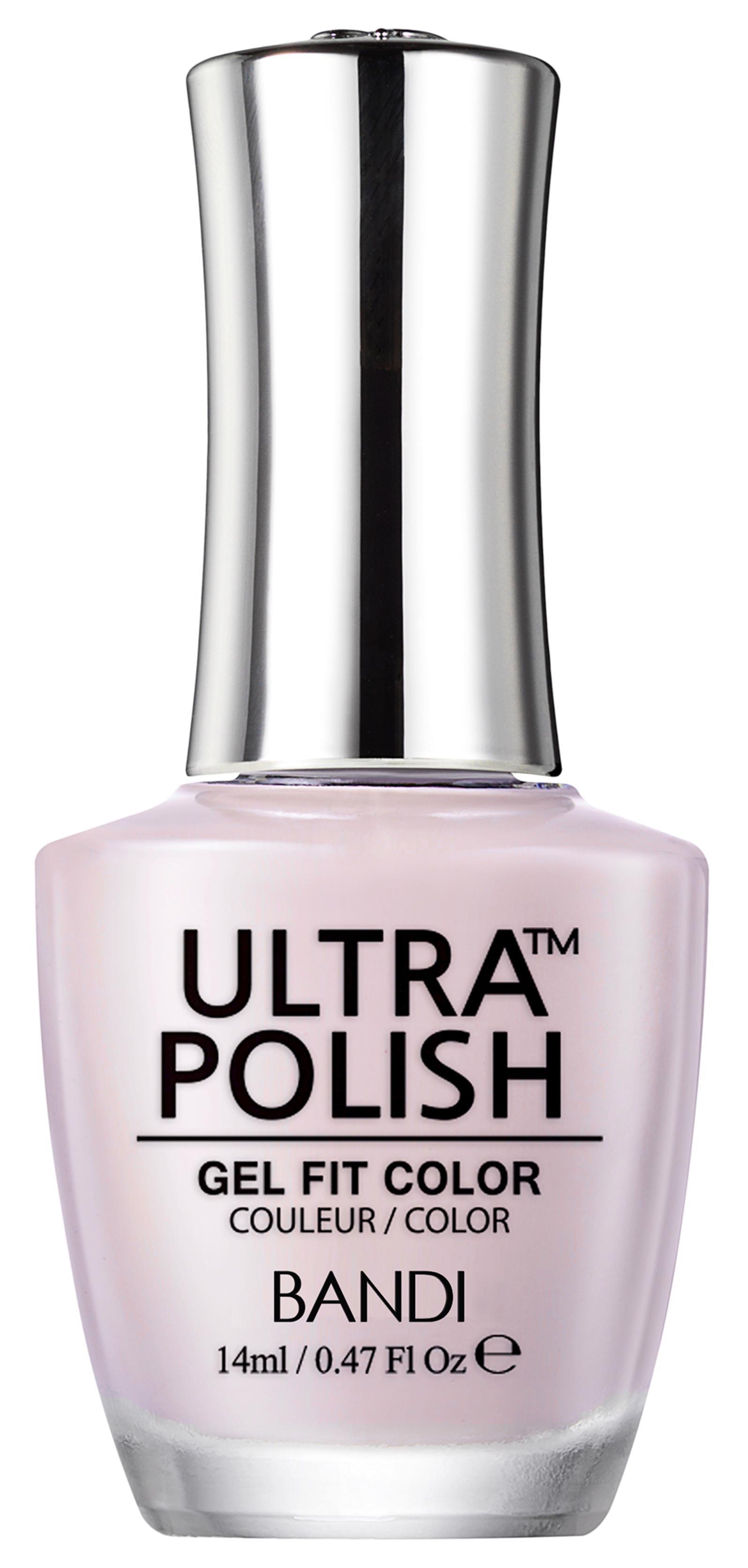 Купить BANDI UP125 ультра-покрытие долговременное цветное для ногтей / ULTRA POLISH GEL FIT COLOR 14 мл, Розовые