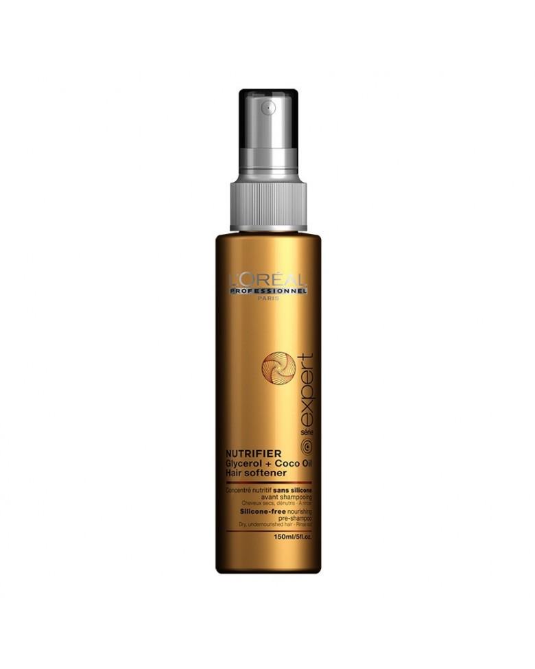LOREAL PROFESSIONNEL Пре-шампунь для сухих волос / НУТРИФАЙЕР 150мл loreal professionnel шампунь для очень поврежденных волос абсолют репэр липидиум 1500мл