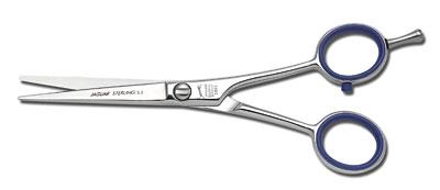 JAGUAR Ножницы A Sterling 5.5 ~Ножницы <br>Классическая форма. Глянцевая полировка. Пригодны для слайсинга.<br>
