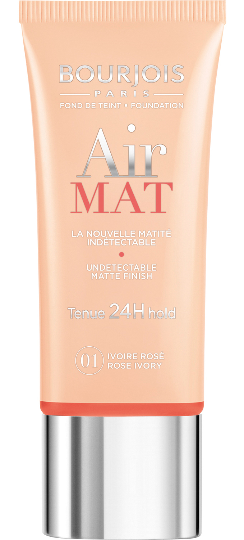 BOURJOIS Крем тональный для лица 01 / Air Mat-Found De Teint ivoire rose