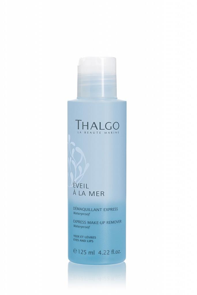 THALGO Экспресс средство для снятия макияжа с глаз и губ / Express Make-Up Remover 125 мл ga de cредство для снятия макияжа с глаз и лица hydrophilick make up remover 200мл