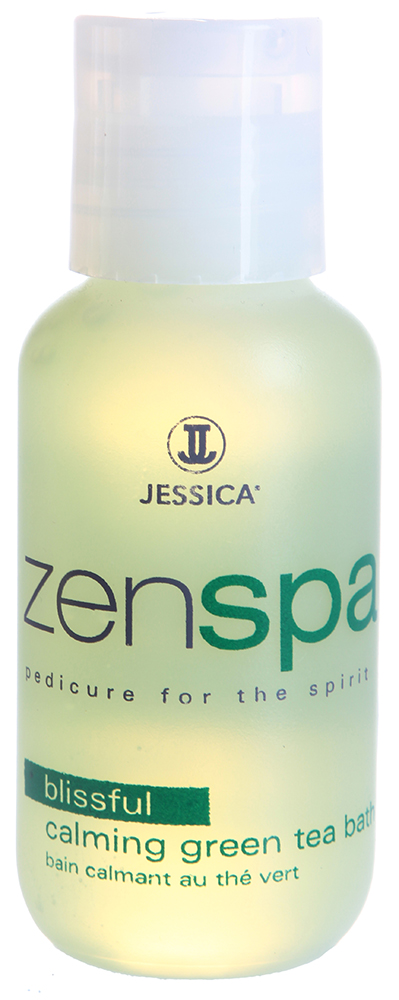 JESSICA Жидкость успокаивающая для ванночки с зеленым чаем / Calming Green Tea Bath 59,25мл~ от Галерея Косметики