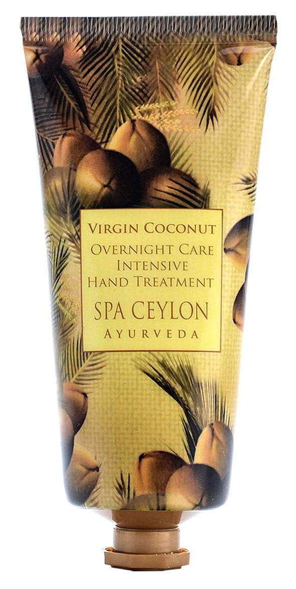 Купить SPA CEYLON Крем интенсивный ночной для рук Чистый кокос 100 г