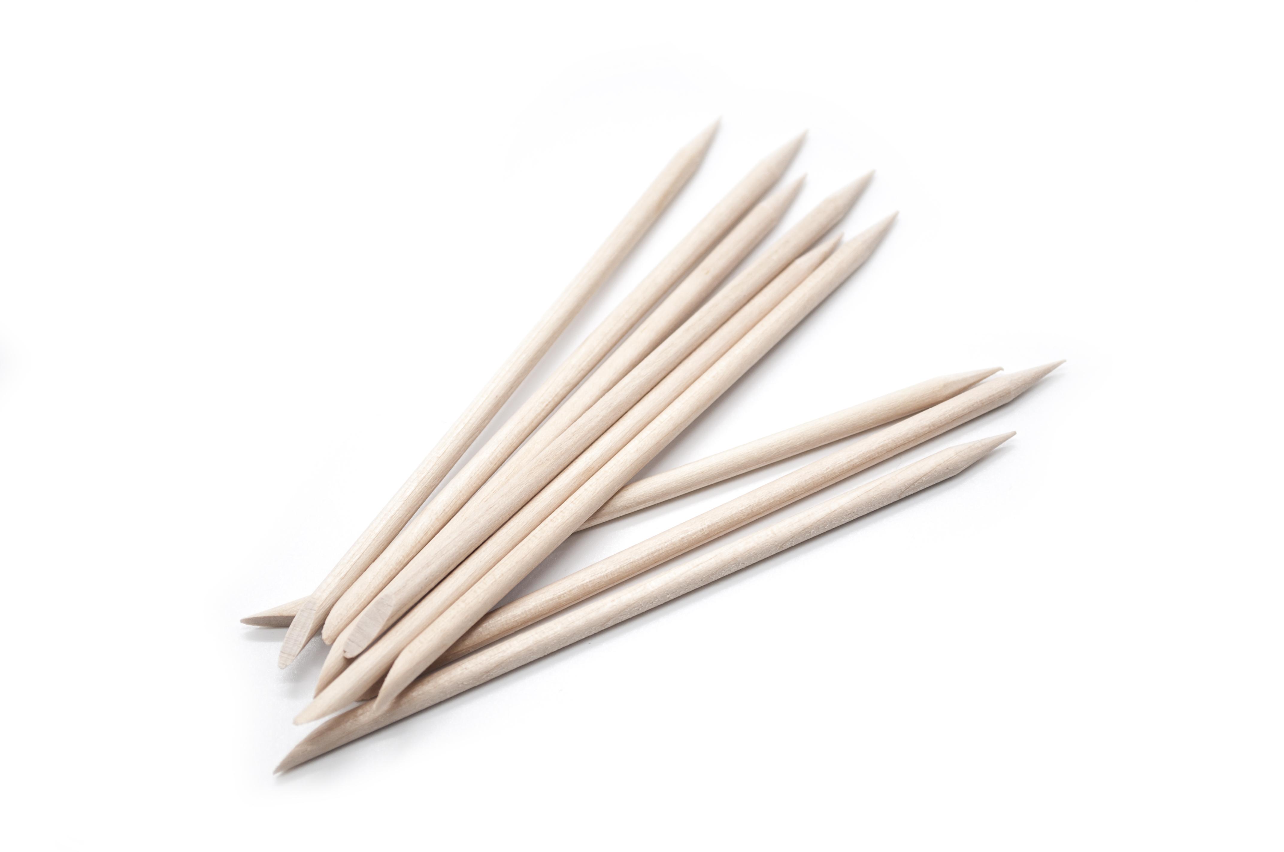 SOLOMEYA Палочки деревянные для маникюра 11 см / Wooden Cuticle Pusher 100 шт - Маникюрные инструменты