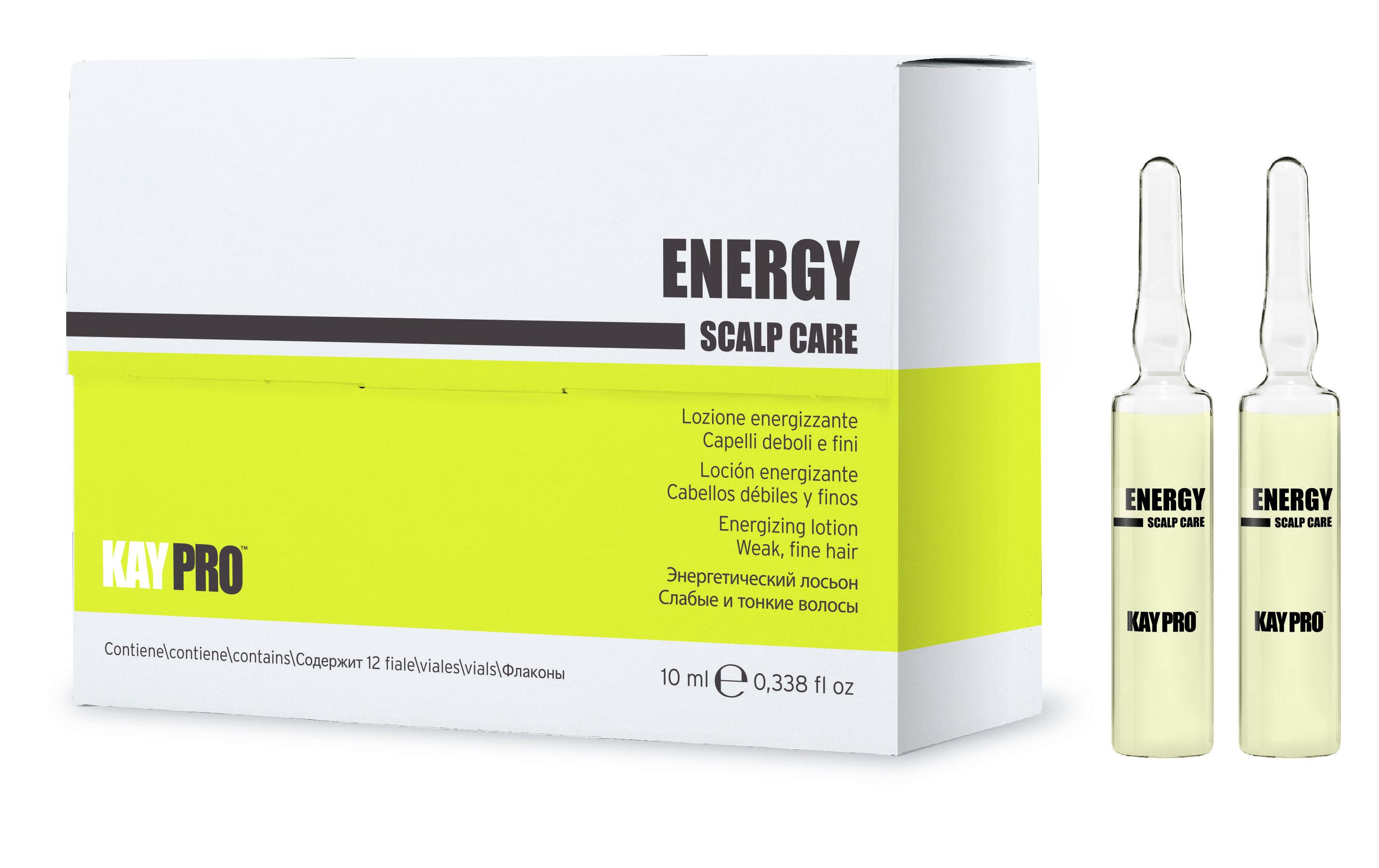 KAYPRO Лосьон против выпадения / Energy 12*10 мл