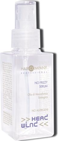 HAIR COMPANY Сыворотка разглаживающая / Serum HW NO FRIZZY 100млСыворотки<br>Жидкие кристаллы, идеальное средство для борьбы с секущимися и поврежденными кончиками волос. Наносится как на сухие, так и на влажные волосы, обладает высоким уровнем защиты от УФ. Идеально подходит для ухода за спутанными, окрашенными или нормальными волосами. Отличное средство для подготовительного этапа перед стрижкой. Активные ингредиенты: масло макадамии, полимерные соединения для блеска волос.Способ применения: нанести несколько капель на ладонь и равномерно распределить по длине волос. Для обработки кудрявых волос идеально как выпрямляющее средство, которое наносится на сухие волосы.<br><br>Назначение: Секущиеся кончики