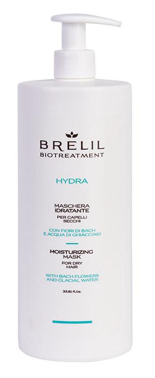 Купить BRELIL professional Маска увлажняющая для волос / BIOTREATMENT Hydra 1000 мл