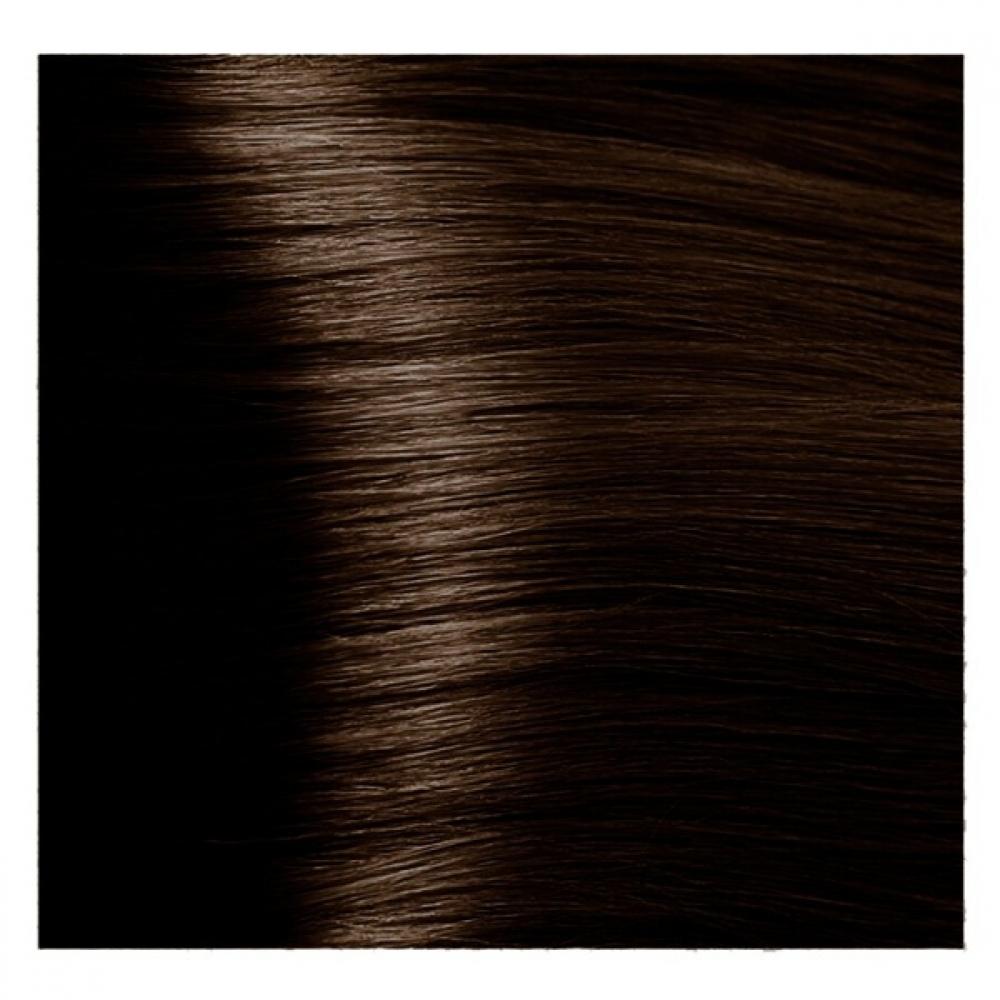 Купить KAPOUS NA 4.83 краска для волос, коричневый анис / Magic Keratin 100 мл, Бежевый и коричневый