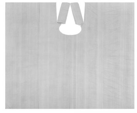 IGRObeauty Пеньюар большой 110*160 см 20 мкр, цвет серебро 50 шт