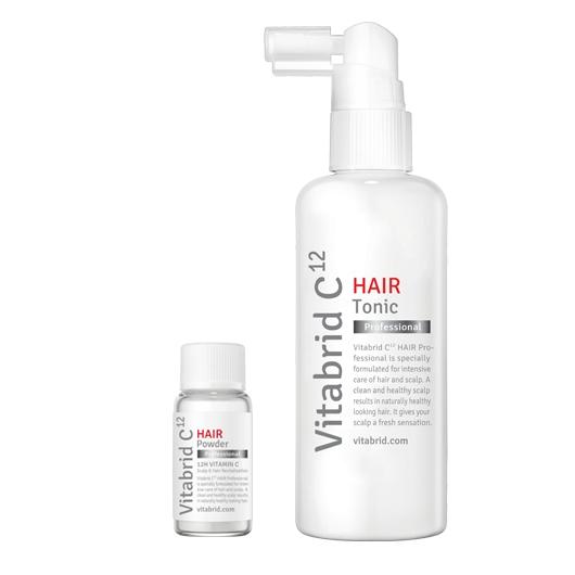 Купить VITABRID C12 Набор порошок и тоник / HAIR Tonic Set Professional 1.5г/100мл