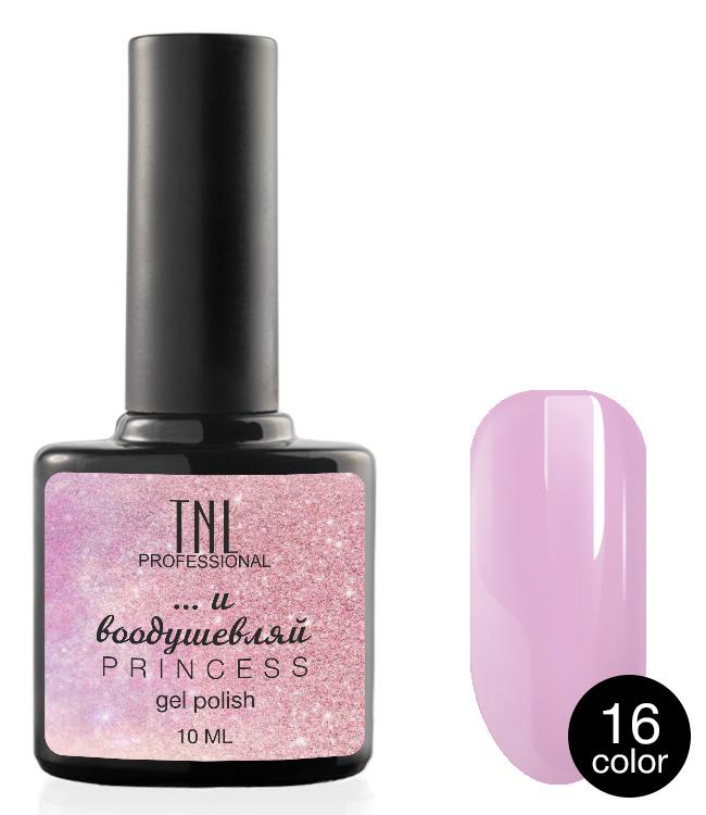 Купить TNL PROFESSIONAL 16 гель-лак для ногтей / Princess color 10 мл, Розовые
