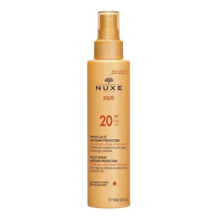 Купить NUXE Молочко солнцезащитное для лица и тела / NUXE SUN SPF20 150 мл