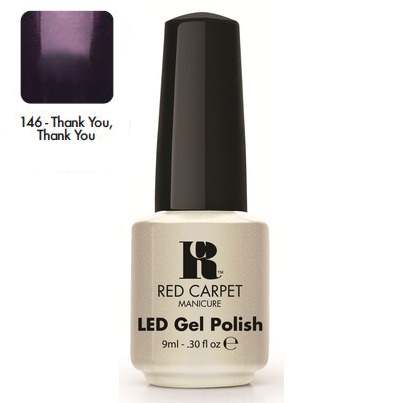 "RED CARPET 146 ����-��� ��� ������ ""Thank You, Thank You"" / LED Gel Polish 9��~"