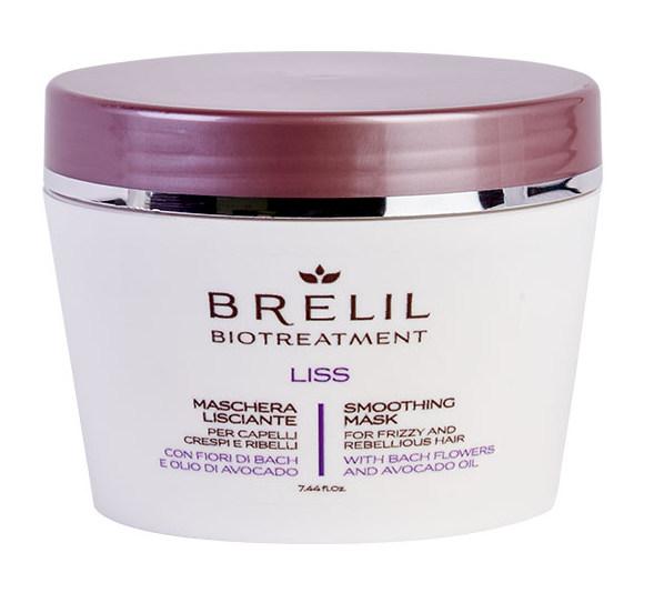 Купить BRELIL professional Маска разглаживающая для волос / BIOTREATMENT Liss 220 мл