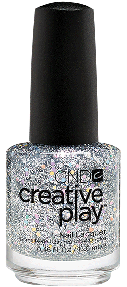 CND 498 лак для ногтей / Bling Toss Creative Play 13,6 мл