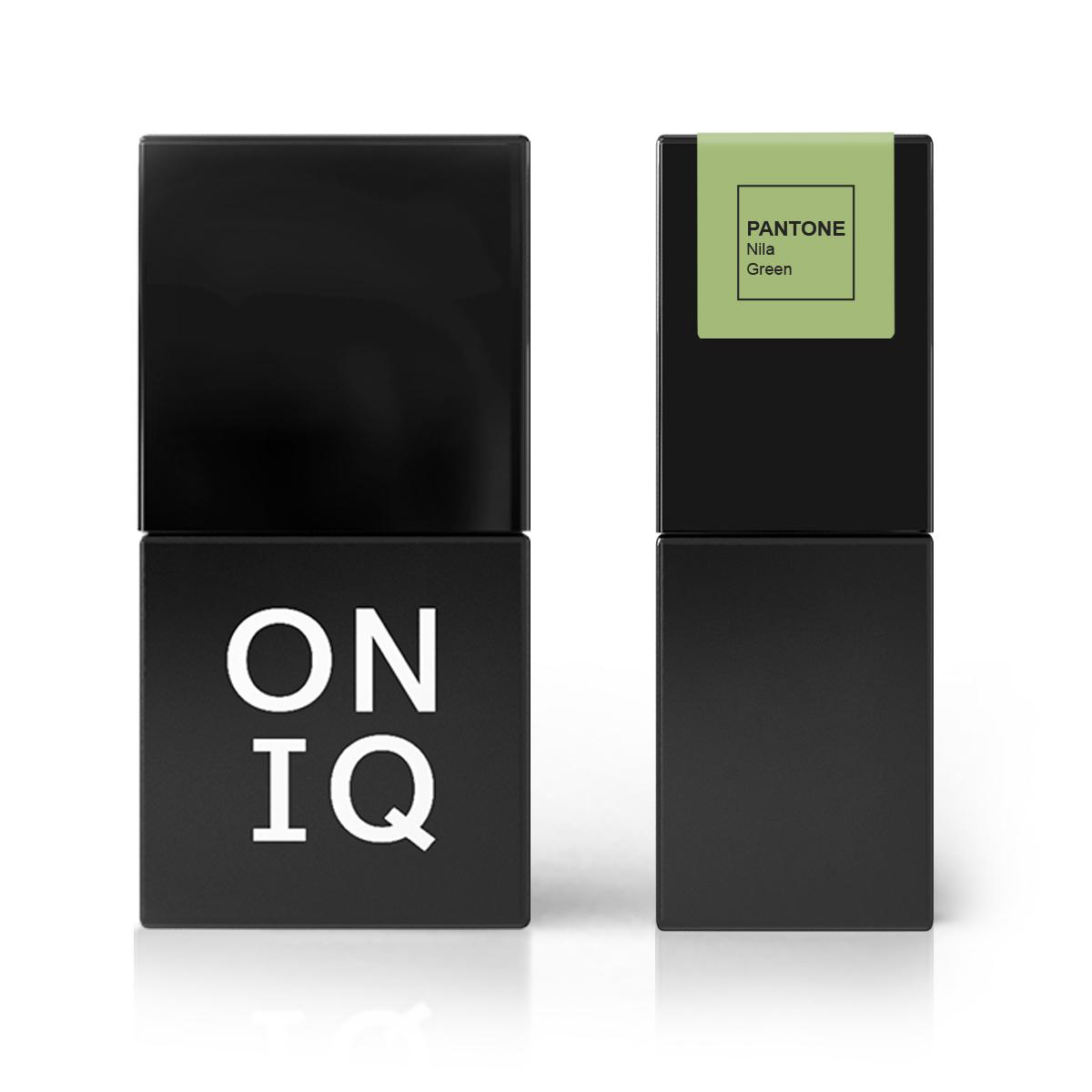 ONIQ Гель-лак для покрытия ногтей, Pantone: Nile green, 10 мл -  Гель-лаки