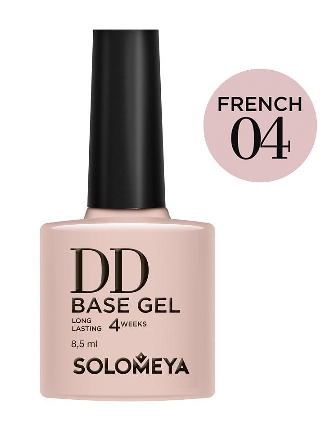 SOLOMEYA База-DD суперэластичная на основе нано-каучукового материала French 04 / DD BASE GEL Daily Defense 8,5мл