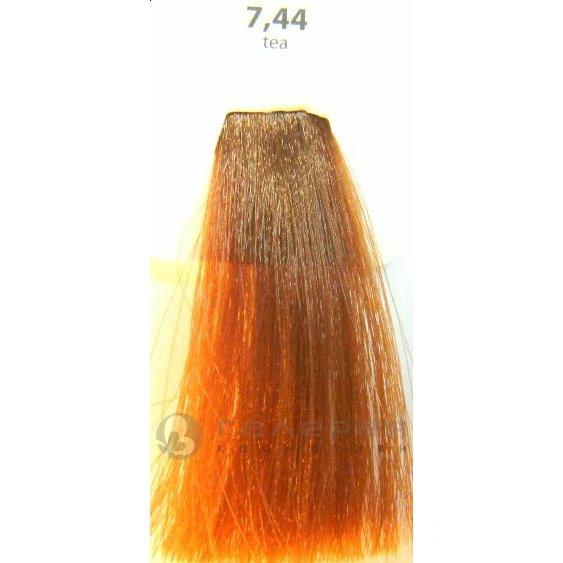 KAARAL 7.34 краска для волос / Sense COLOURS 100млКраски<br>7.34 - Ярко-красный Перманентные красители. Классический перманентный краситель бизнес класса. Обладает высокой покрывающей способностью. Содержит алоэ вера, оказывающее мощное увлажняющее действие, кокосовое масло для дополнительной защиты волос и кожи головы от агрессивного воздействия химических агентов красителя и провитамин В5 для поддержания внутренней структуры волоса. При соблюдении правильной технологии окрашивания гарантировано 100% окрашивание седых волос. Палитра включает 93 классических оттенка. Способ применения: Приготовление: смешивается с окислителем OXI Plus 6, 10, 20, 30 или 40 Vol в пропорции 1:1 (60 г красителя + 60 г окислителя). Суперосветляющие оттенки смешиваются с окислителями OXI Plus 40 Vol в пропорции 1:2. Для тонирования волос краситель используется с окислителем OXI Plus 6Vol в различных пропорциях в зависимости от желаемого результата. Нанесение: провести тест на чувствительность. Для предотвращения окрашивания кожи при работе с темными оттенками перед нанесением красителя обработать краевую линию роста волос защитным кремом Вaco. ПЕРВИЧНОЕ ОКРАШИВАНИЕ Нанести краситель сначала по длине волос и на кончики, отступив 1-2 см от прикорневой части волос, затем нанести состав на прикорневую часть. ВТОРИЧНОЕ ОКРАШИВАНИЕ Нанести состав сначала на прикорневую часть волос. Затем для обновления цвета ранее окрашенных волос нанести безаммиачный краситель Easy Soft. Время выдержки: 35 минут. Корректоры Sense. Используются для коррекции цвета, усиления яркости оттенков, создания новых цветовых нюансов, а также для нейтрализации нежелательных оттенков по законам хроматического круга. Содержат аммиак и могут использоваться самостоятельно. Оттенки: T-AG - серебристо-серый, T-M - фиолетовый, T-B - синий, T-RO - красный, T-D - золотистый, 0.00 - нейтральный. Способ применения: для усиления или коррекции цвета волос от 2 до 6 уровней цвета корректоры добавляются в краситель по Правилу пятнадцати