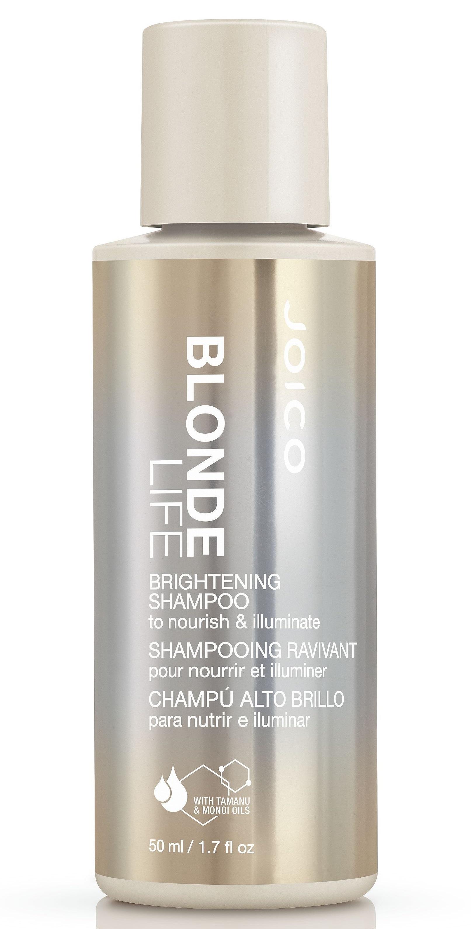 JOICO Шампунь для сохранения чистоты и сияния блонда Безупречный блонд / Blond Life 50 мл.