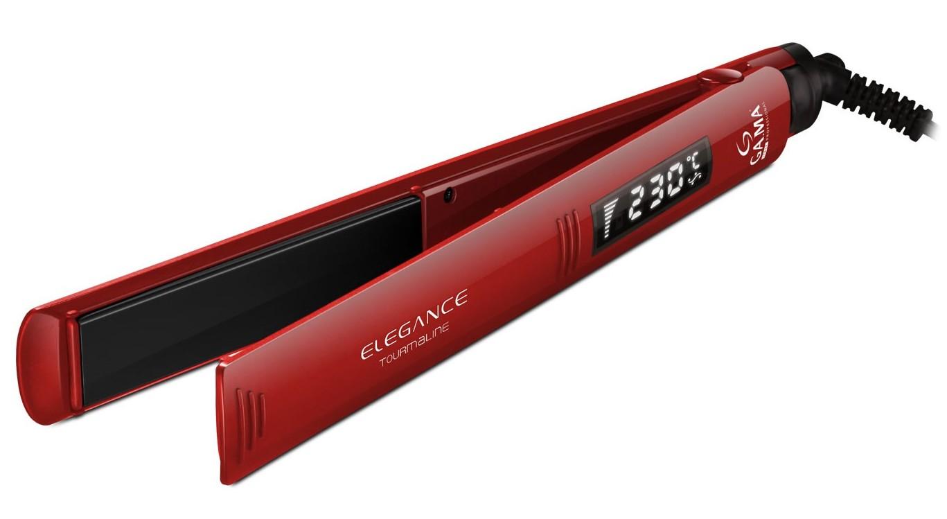 GA MA Щипцы Elegance турмалиновые, цифровой терморегулятор, плавающие полотна