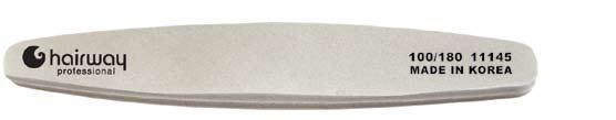 HAIRWAY Пилка полировка ромб 100/180Пилки для ногтей<br>Пилки для ногтей Hairway выполнены из высококачественного износостойкого материала, различной степени жесткости. Позволяют придать форму и блеск натуральным и искусственным ногтям. Пилки удобны в работе, имеют большой срок службы и легко дезинфицируются.<br>