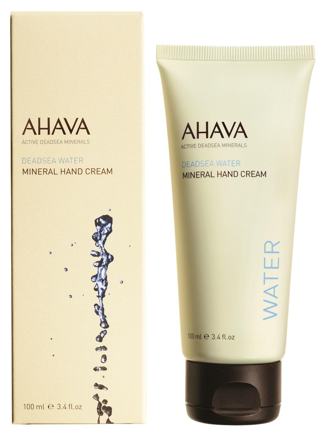 AHAVA Крем минеральный для рук / Deadsea Water 100 мл