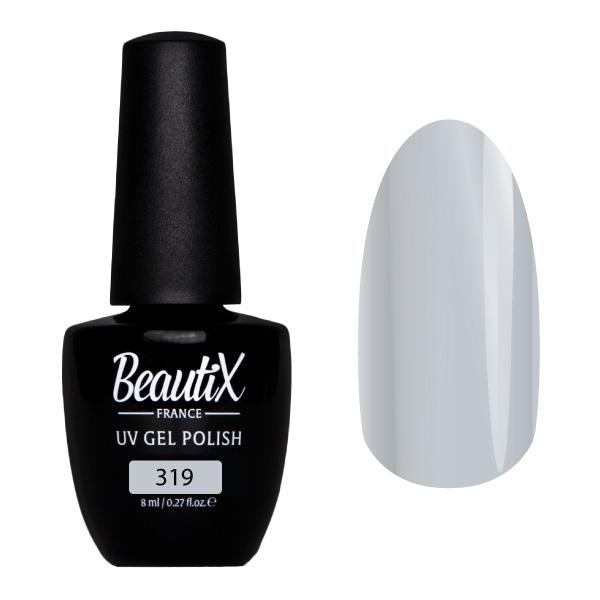 Купить BEAUTIX 319 гель-лак для ногтей 8 мл, Серые