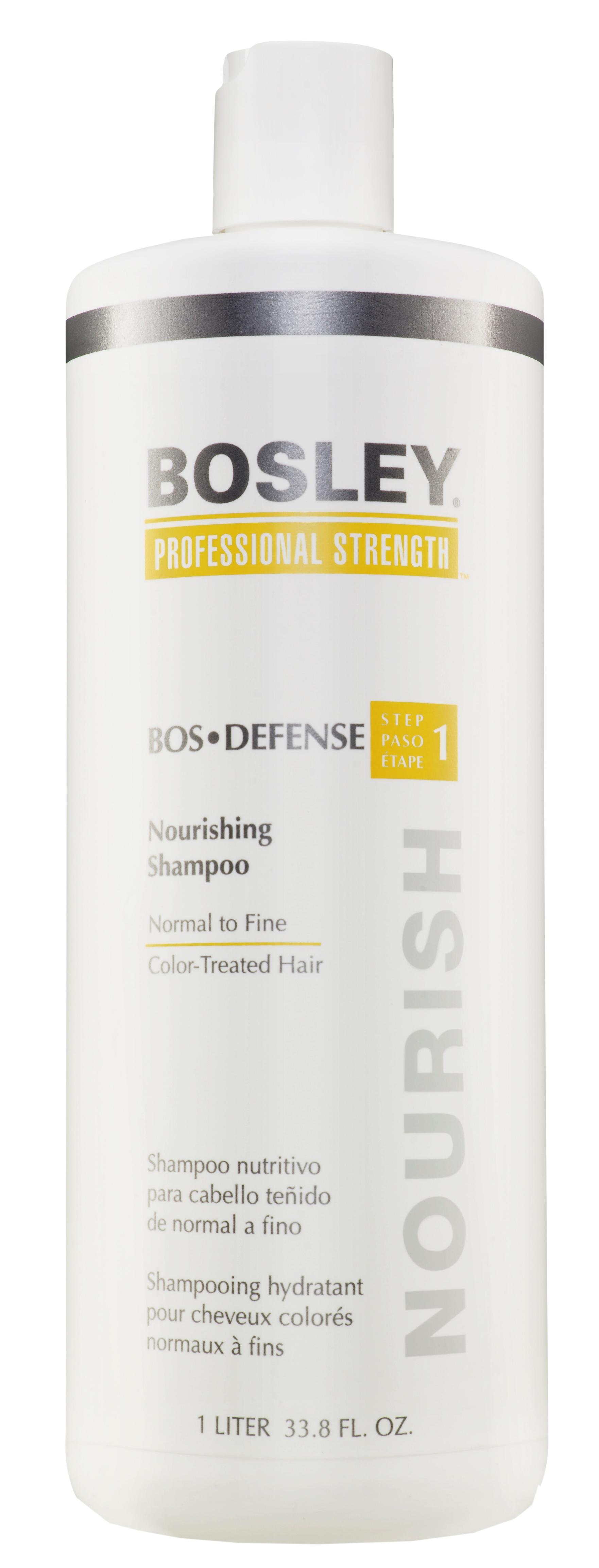 BOSLEY Шампунь питательный для нормальных/тонких окрашенных волос / ВОS DEFENSE (step 1) 1000мл