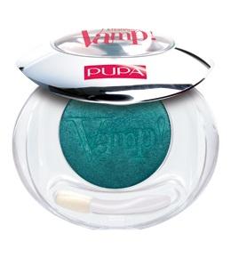 PUPA Тени компактные 304 VAMP! тропический зеленый сатиновый, 2,5гр